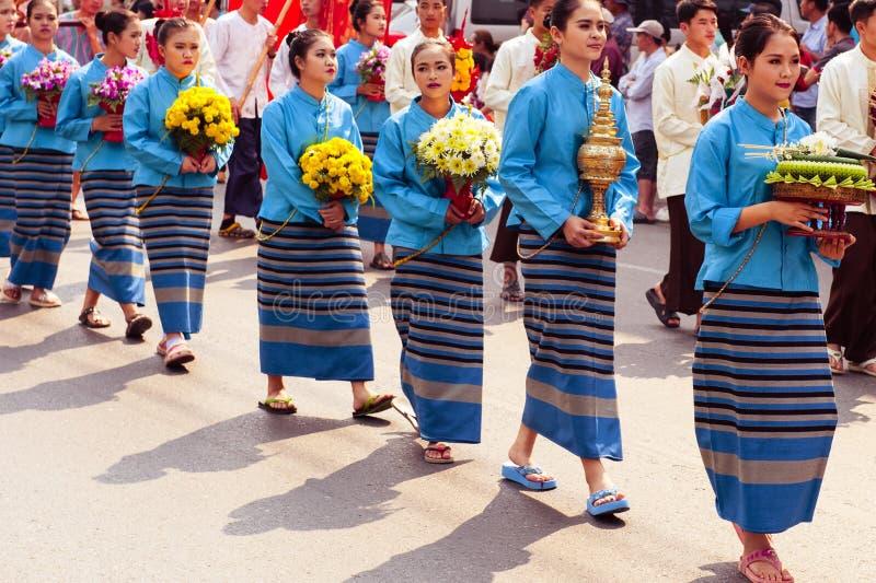 泰国妇女 免版税库存照片