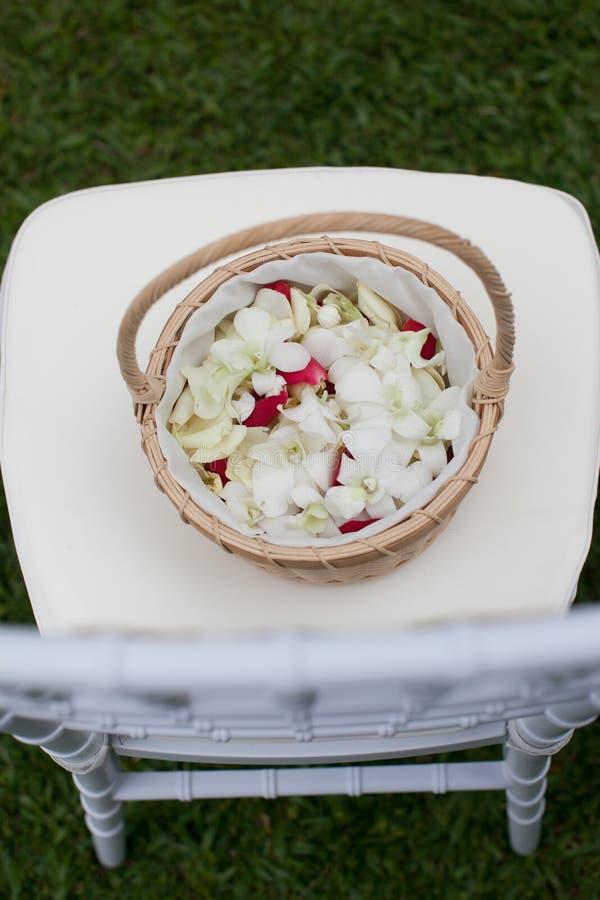 泰国婚礼样式 免版税库存图片