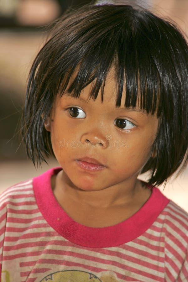 泰国孩子 图库摄影
