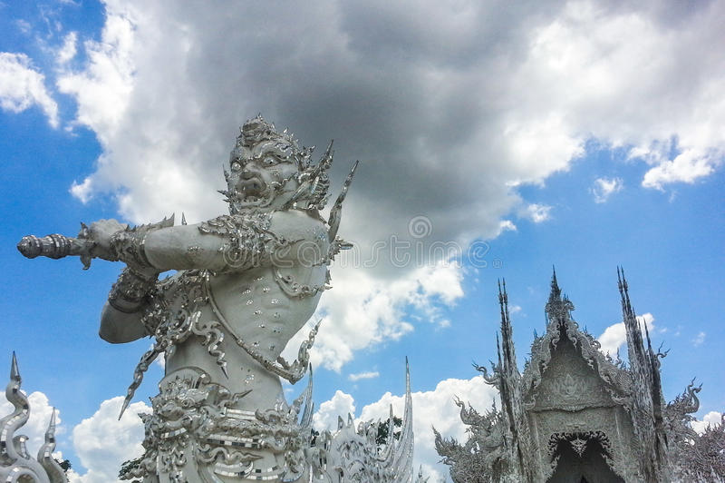 泰国宗教的雕塑 免版税库存照片