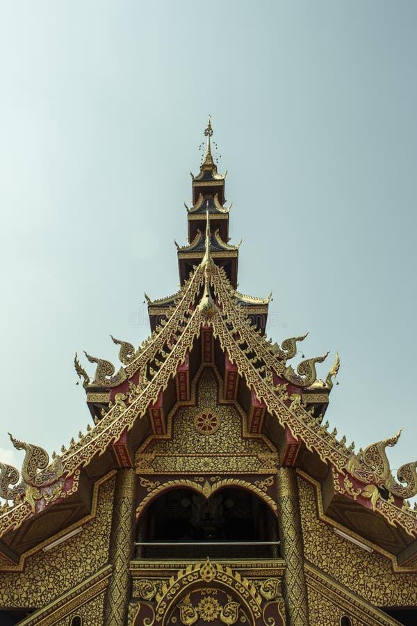 泰国寺庙 免版税图库摄影