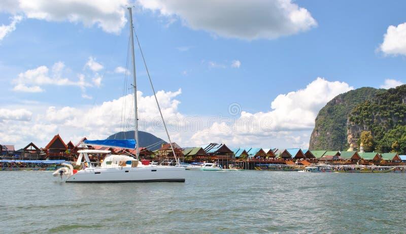 泰国小岛 免版税库存图片