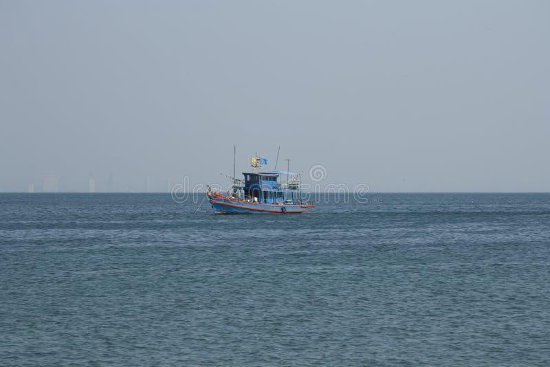 泰国小船的捕鱼 图库摄影