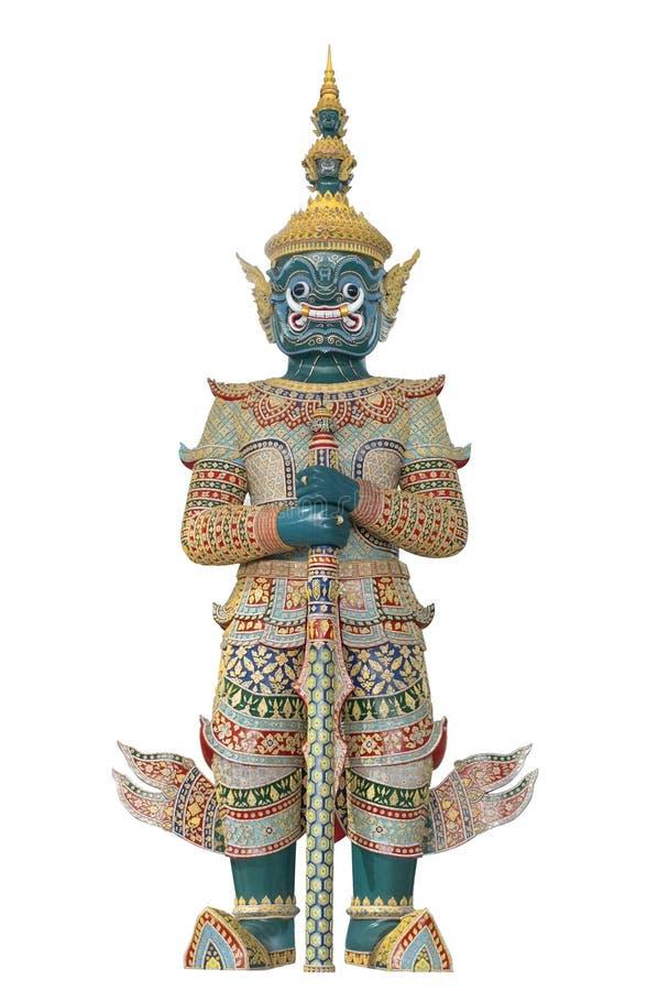 泰国巨型的监护人 免版税库存照片