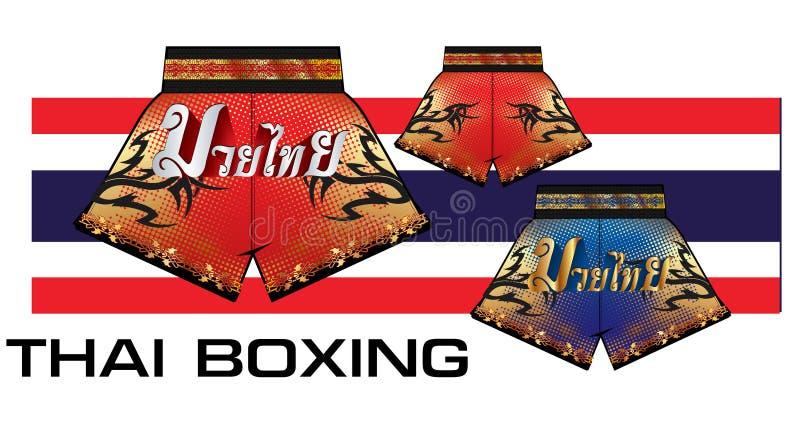 泰国拳击短裤1 免版税库存图片