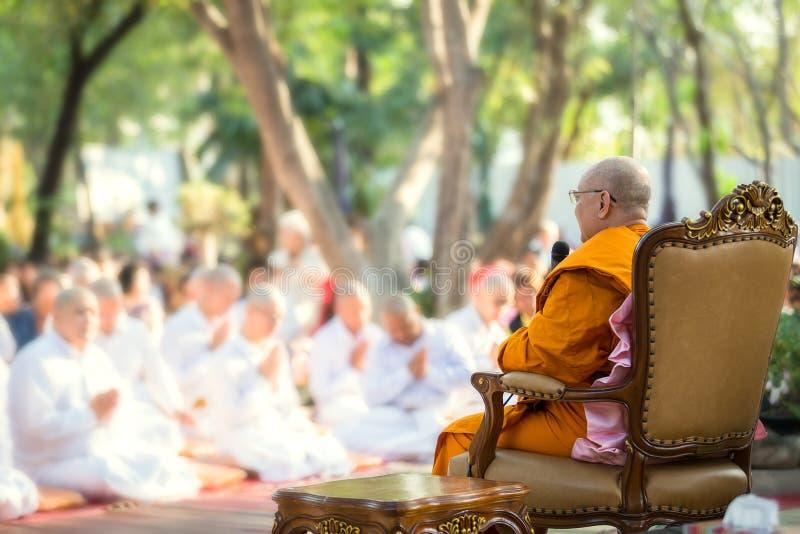 泰国文化整理仪式 - (浅焦点) 图库摄影