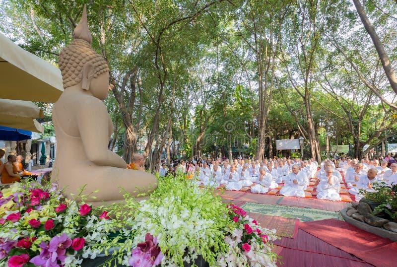 泰国文化整理仪式 库存照片