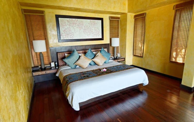 泰国旅馆客房 免版税图库摄影