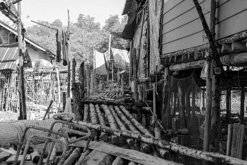 泰国普吉岛城镇细节贫乏 库存图片