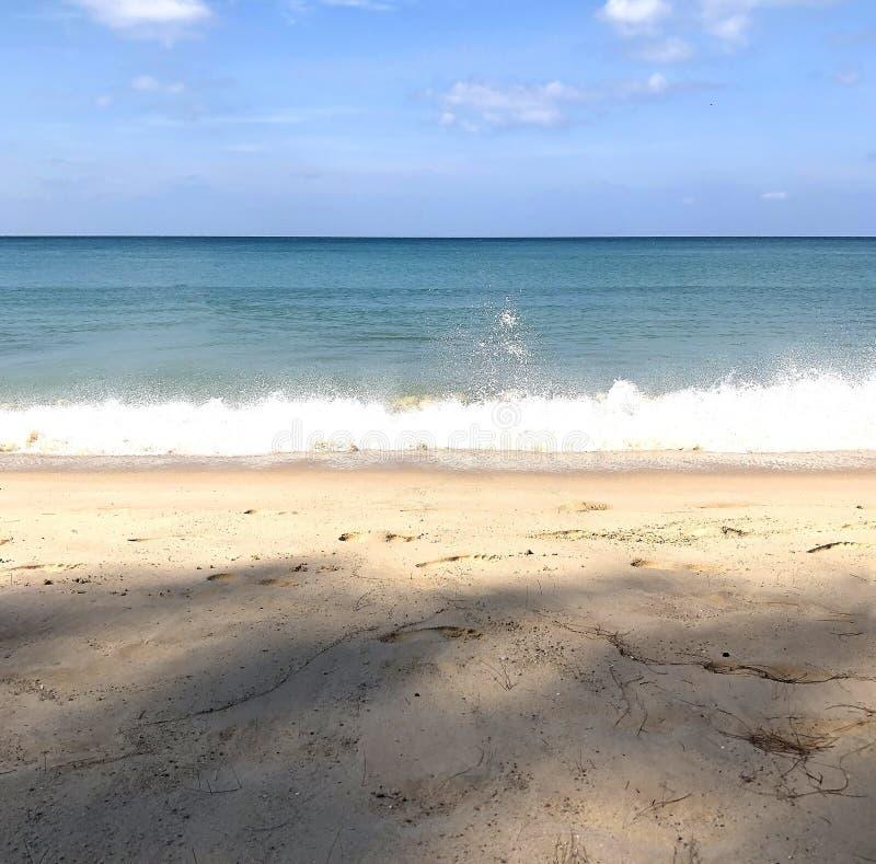 泰国普吉岛海滩 免版税图库摄影