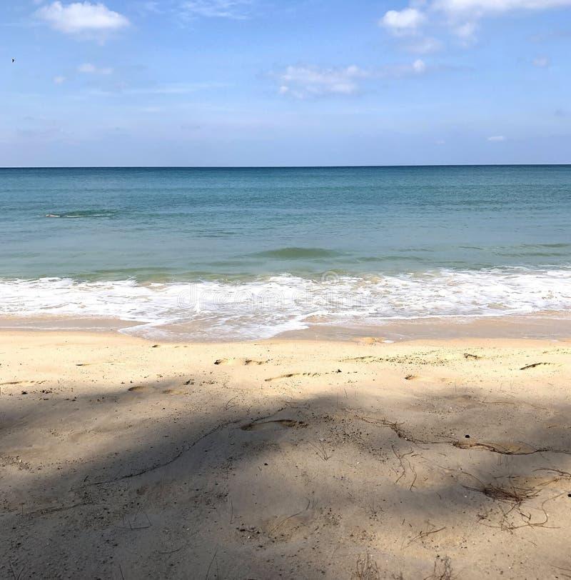 泰国普吉岛海滩 库存照片