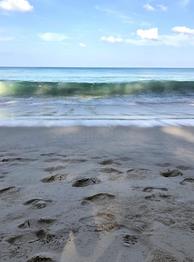 泰国普吉岛海滩 库存图片