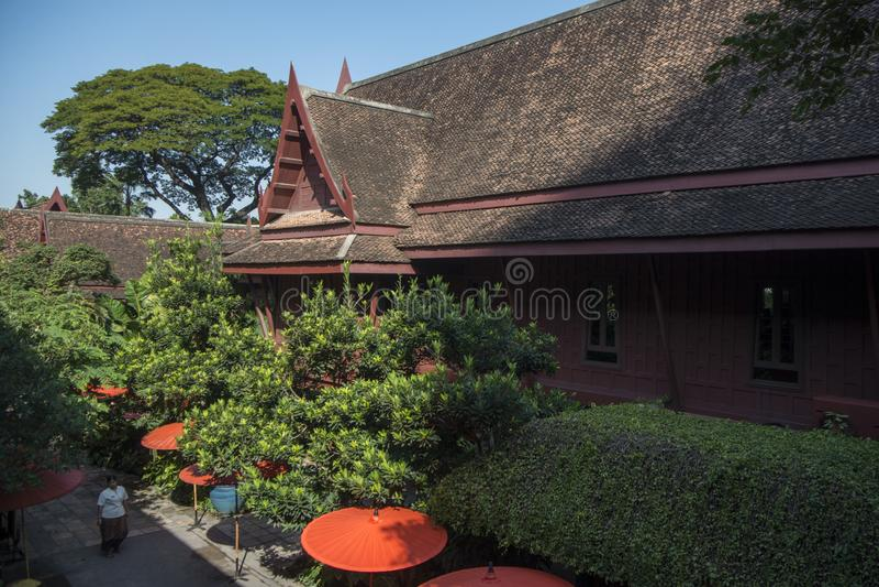 泰国曼谷汤普生博物馆 免版税图库摄影