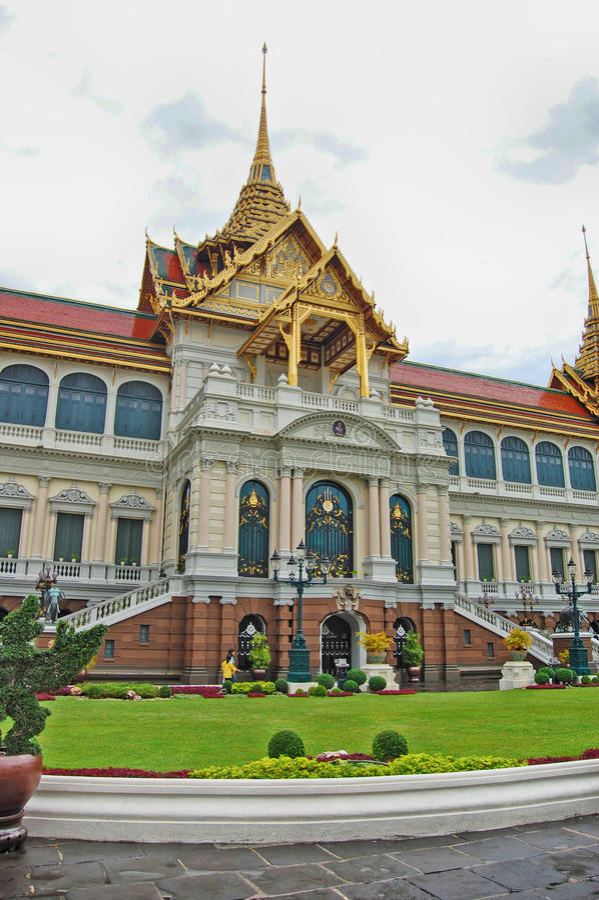 泰国曼谷盛大宫殿 免版税库存照片