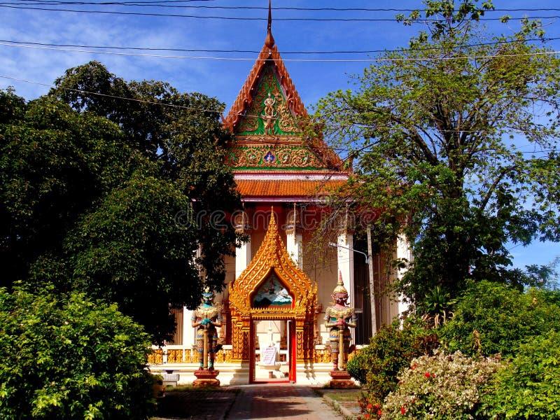 泰国曼谷附近的佛寺 库存图片