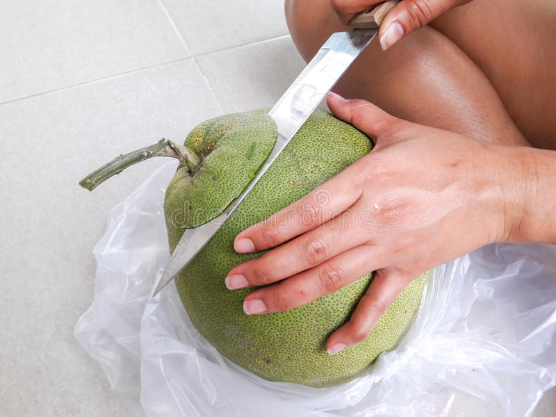 泰国果子柚 免版税库存照片