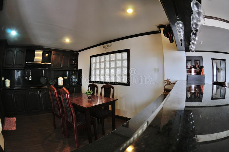 泰国样式厨房 库存图片