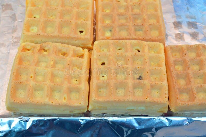 泰国样式奶蛋烘饼 库存照片