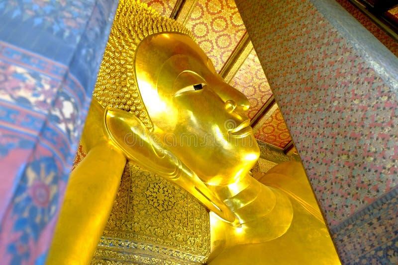 泰国样式菩萨的面孔 库存照片