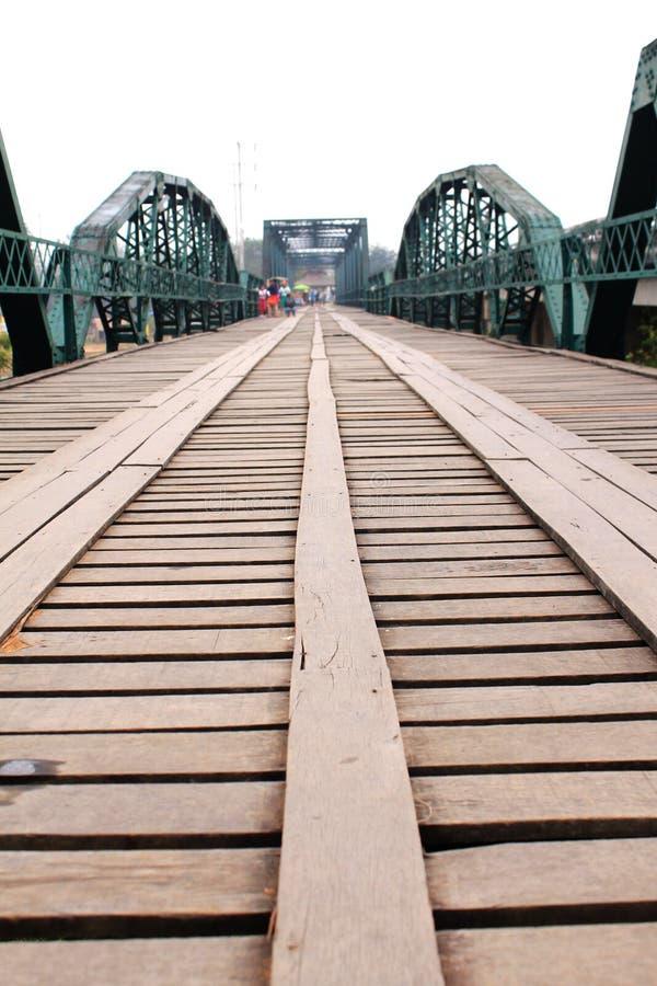 泰国桥梁 库存图片