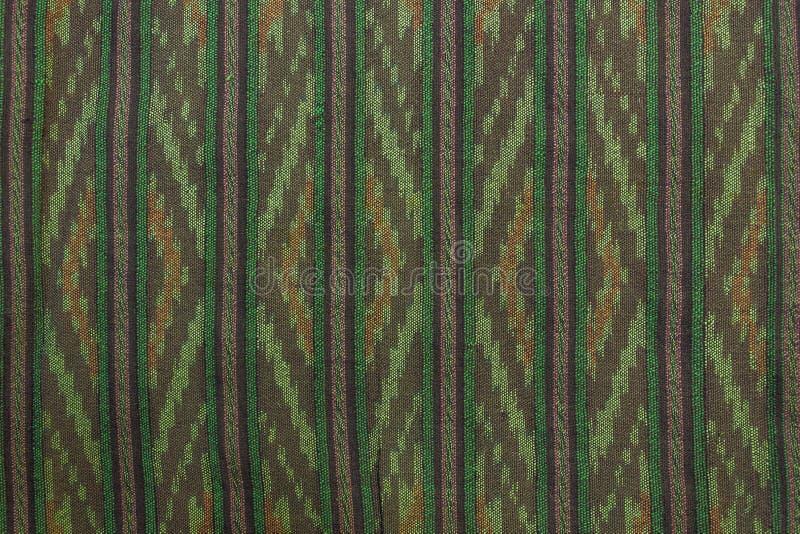 泰国棉织物 库存照片
