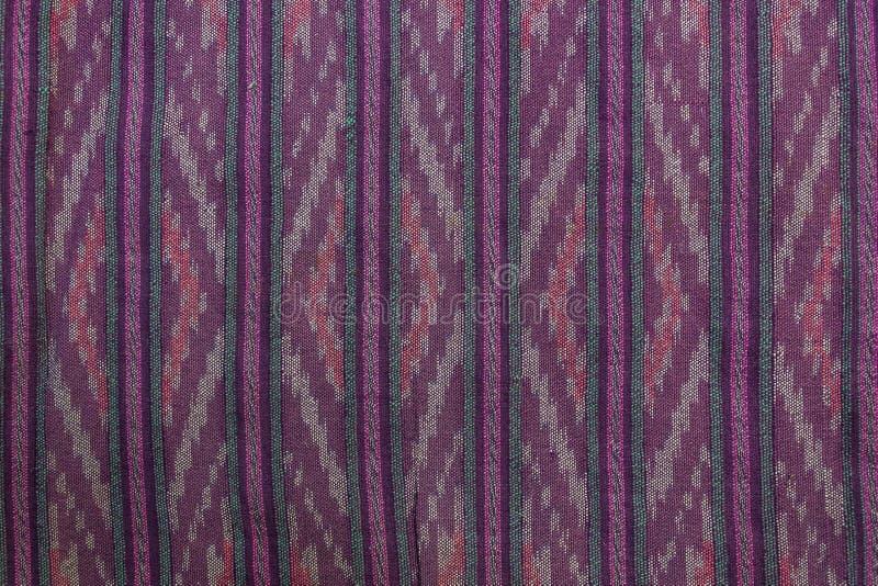 泰国棉织物 免版税库存照片