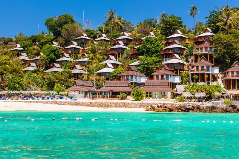 泰国海岛度假村 库存图片