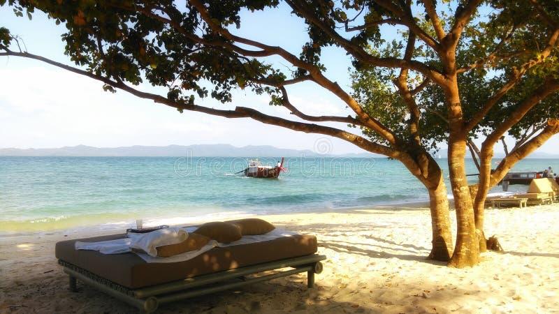 泰国海滩照片 免版税库存图片