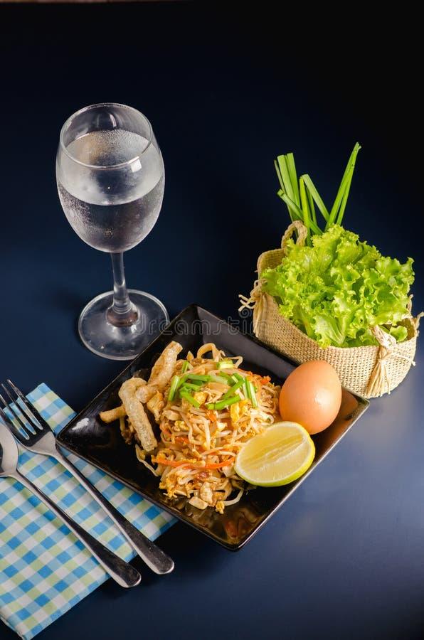 泰国混乱油煎的米线& x28; 垫Thai& x29; 库存照片