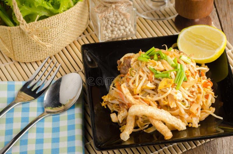 泰国混乱油煎的米线& x28; 垫Thai& x29; 图库摄影
