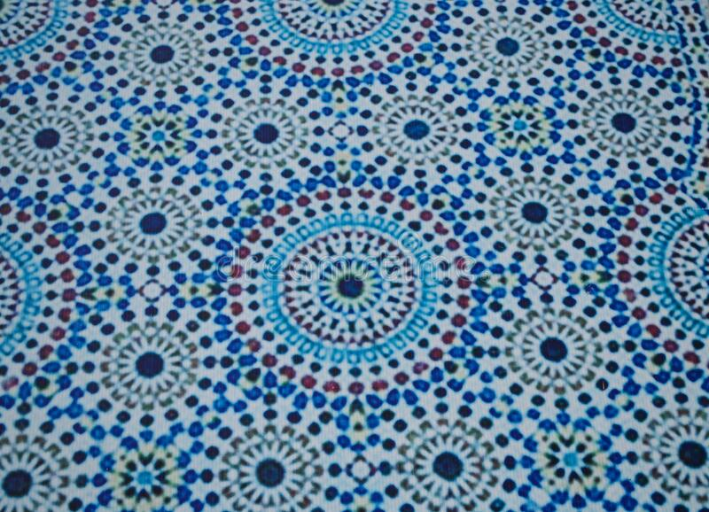 泰国清迈国际植物园凉亭天花板的摩洛哥式图案 库存照片