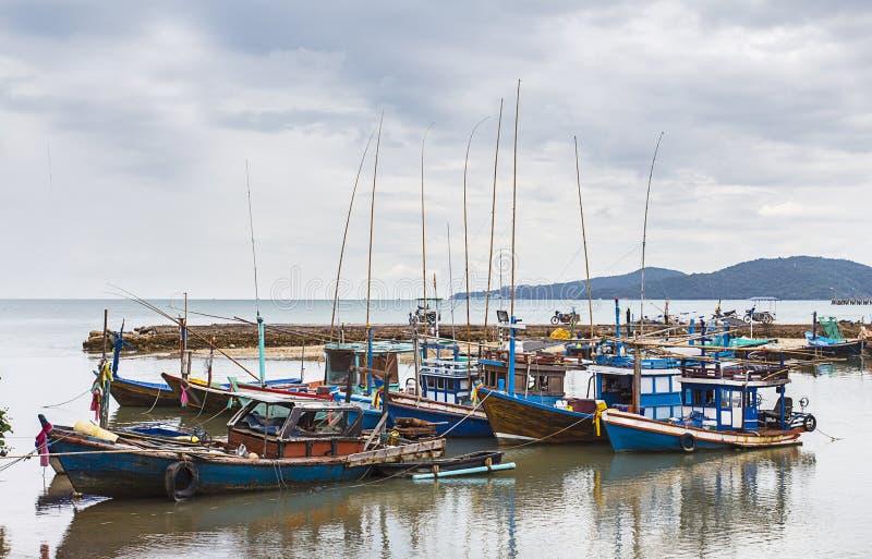 泰国渔船 免版税图库摄影