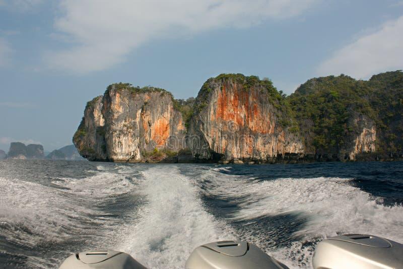 泰国湾的海岛 免版税库存照片