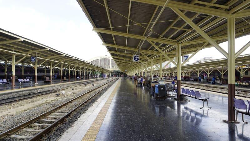 泰国火车 库存图片