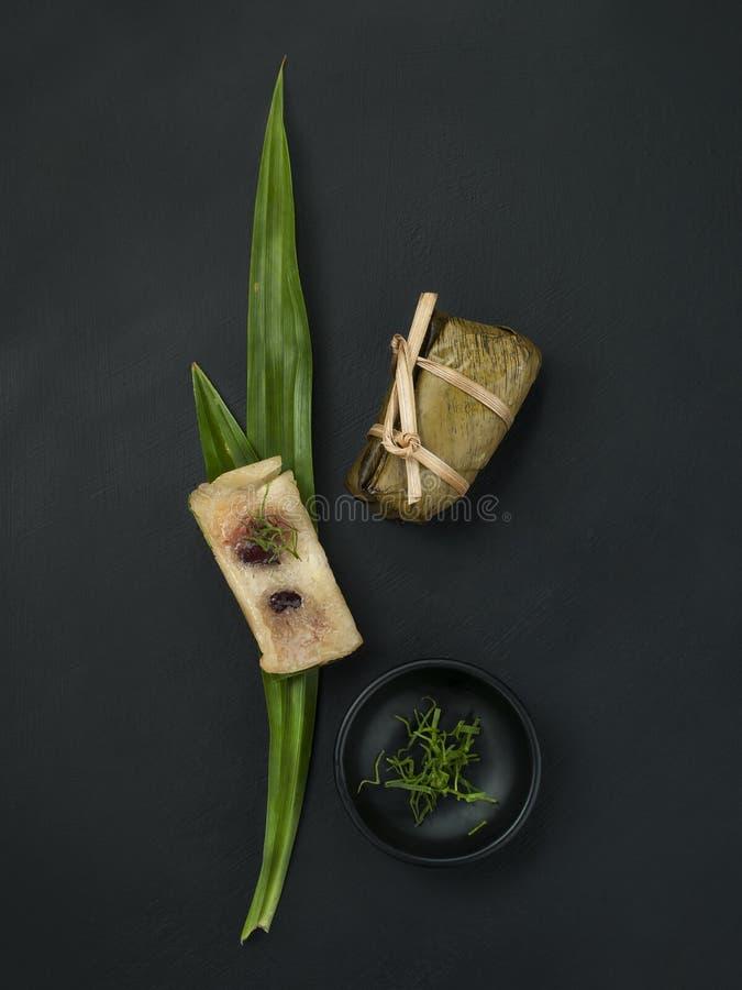 泰国点心现代称呼的食物 免版税库存图片