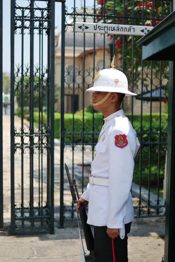 泰国的卫兵 免版税库存照片