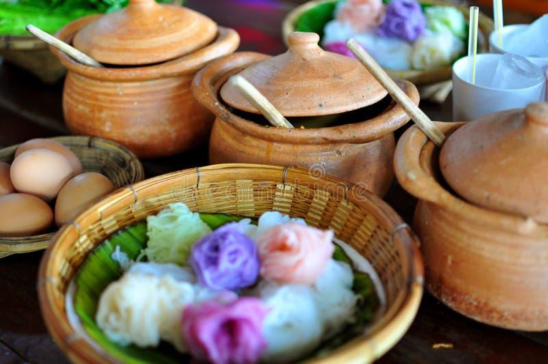 泰国的咖喱 免版税图库摄影