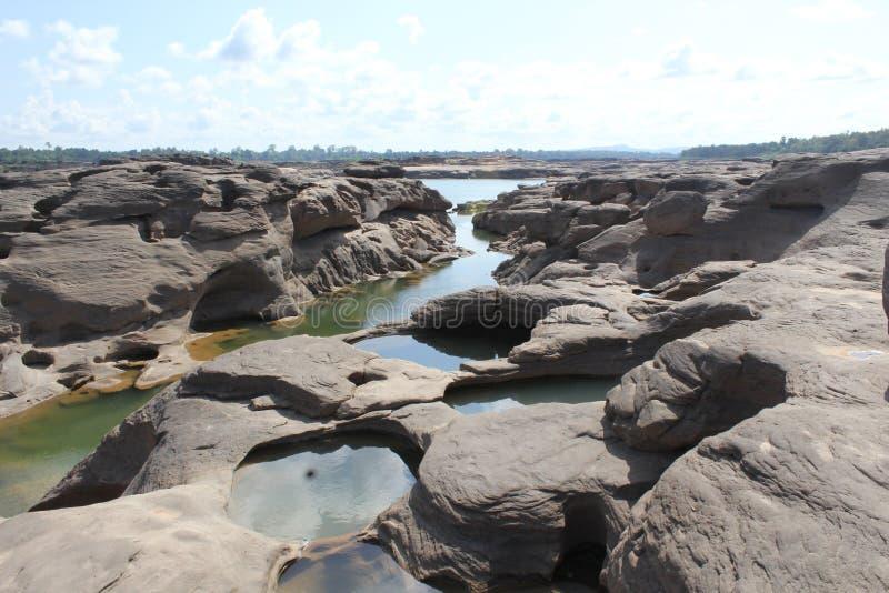 泰国的大峡谷 库存图片