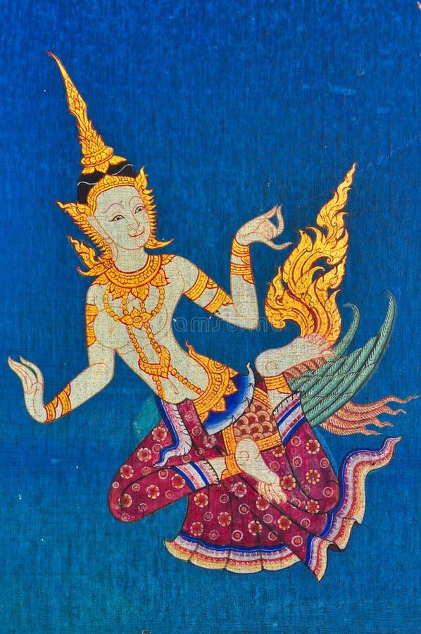 泰国的天使 库存图片