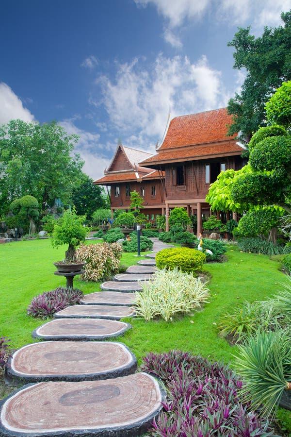 泰国的家庭风格 免版税库存图片