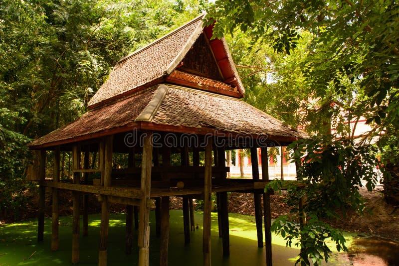 泰国的房子 免版税库存照片