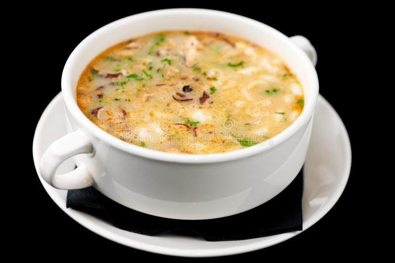 泰国的汤 免版税库存图片