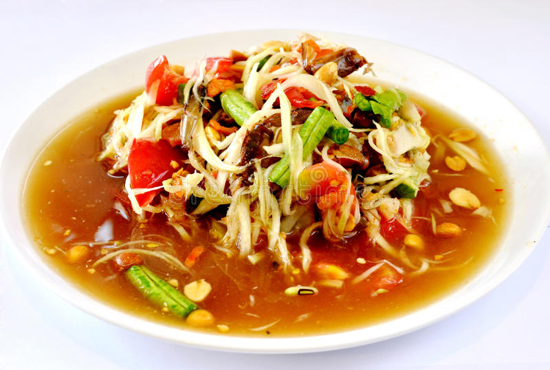 泰国的烹调 免版税库存图片