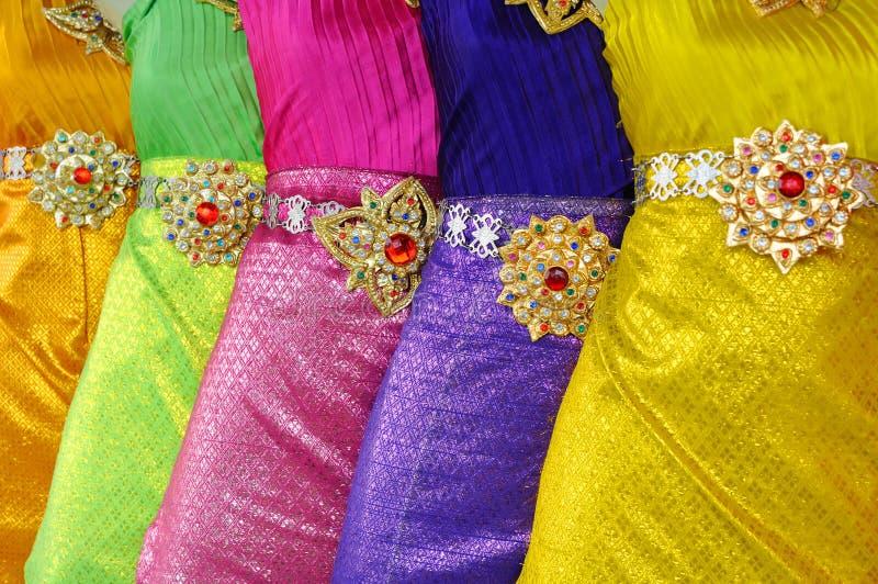 泰国的礼服 库存图片