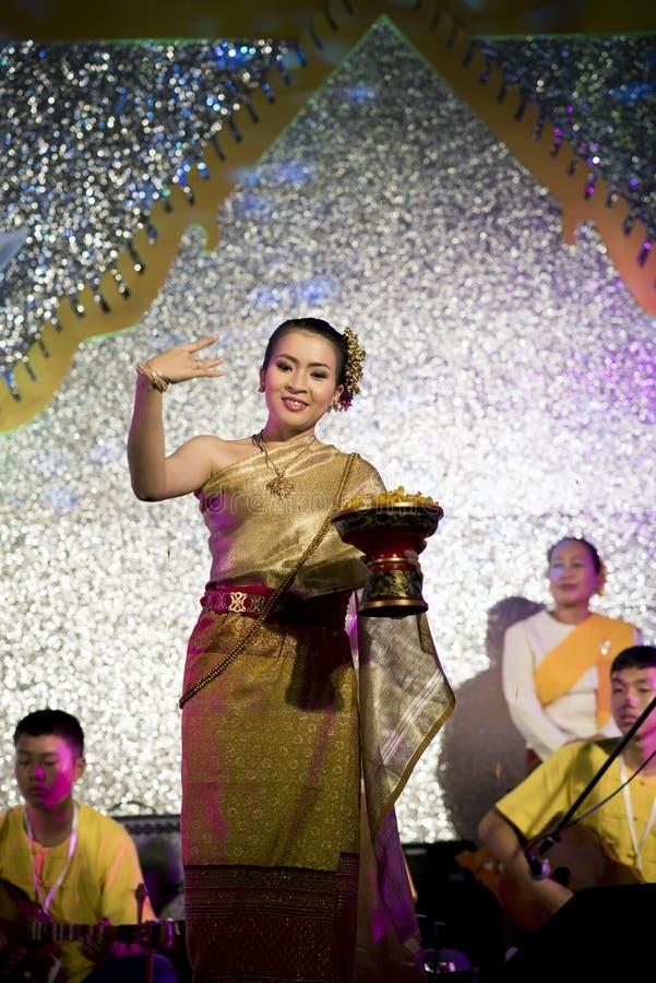 泰国的舞蹈演员 免版税图库摄影