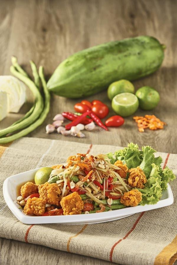 泰国的食物 图库摄影