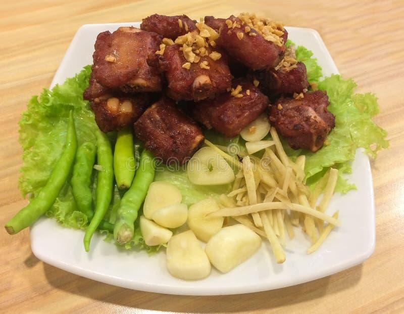 泰国的食物 免版税库存照片