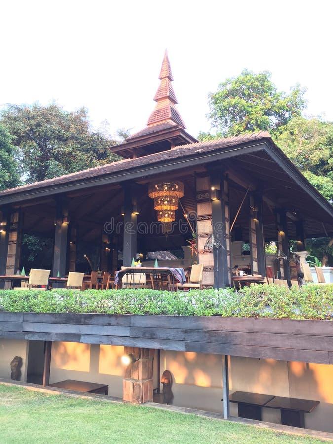 泰国的餐馆 免版税库存照片