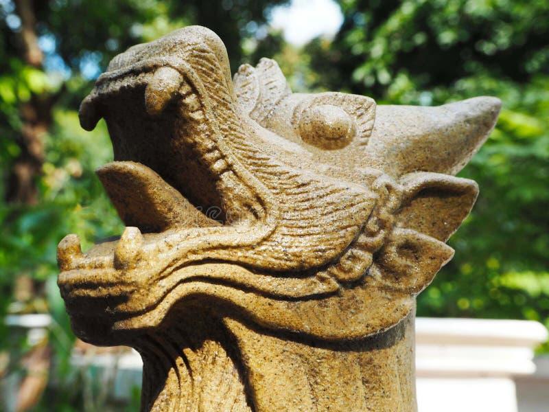 泰国监护人狮子 免版税库存照片