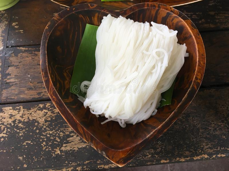 泰国米根瘤,泰国食物 图库摄影